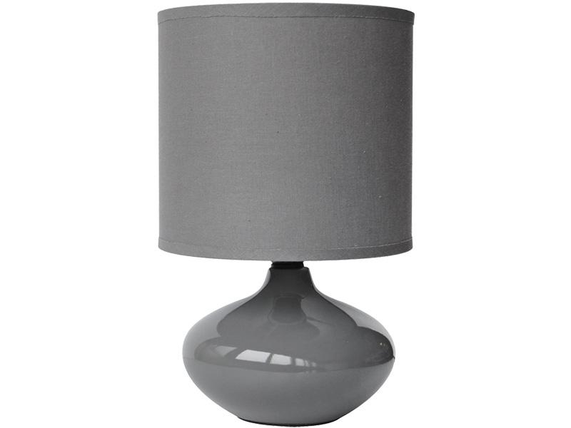 Lampe à poser LED ALIZEE 15cm 24.5cm 40W gris