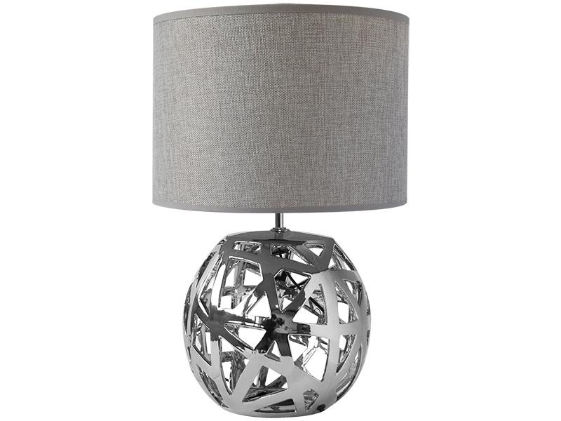 Lampe à poser LED YANIS 35cm 55cm 40W gris
