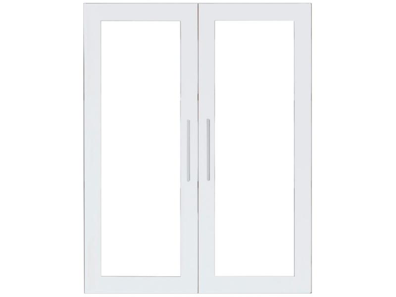 Set de 2 portes PRIMA BLANC