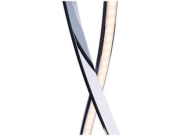 Lampadaire LED SNAKE 28cm 138cm 24W argenté