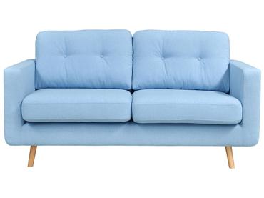 Sofa NEVADA Stoff hellblau