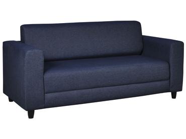 Bettsofa DENIM stoff blau 81x174x74cm