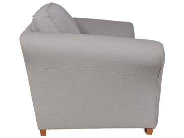 3er Sofa LONDON 2 Stoff grau