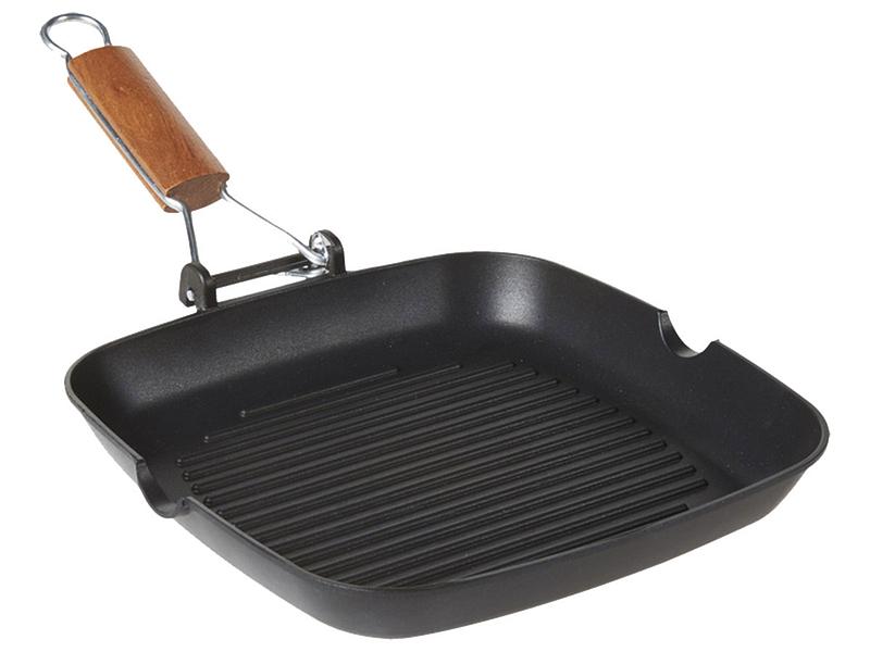 Steakpfanne BISTECCHIERA Aluminium schwarz