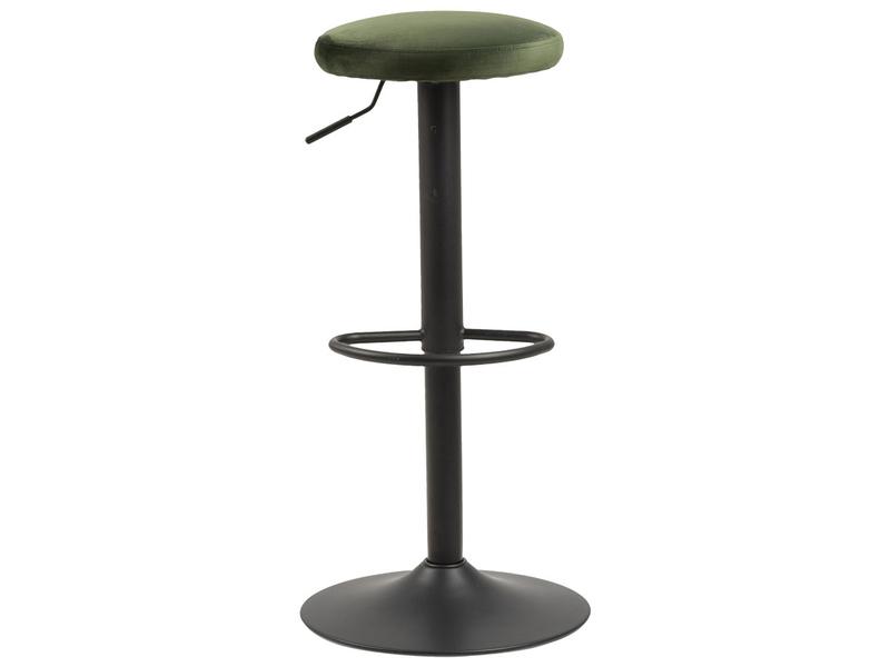 Barhocker FINCH Metall grün,schwarz
