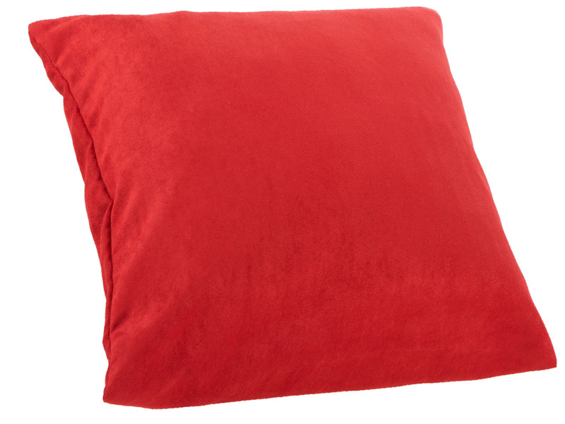Kissen MILANO 40x40cm rot Unifarben