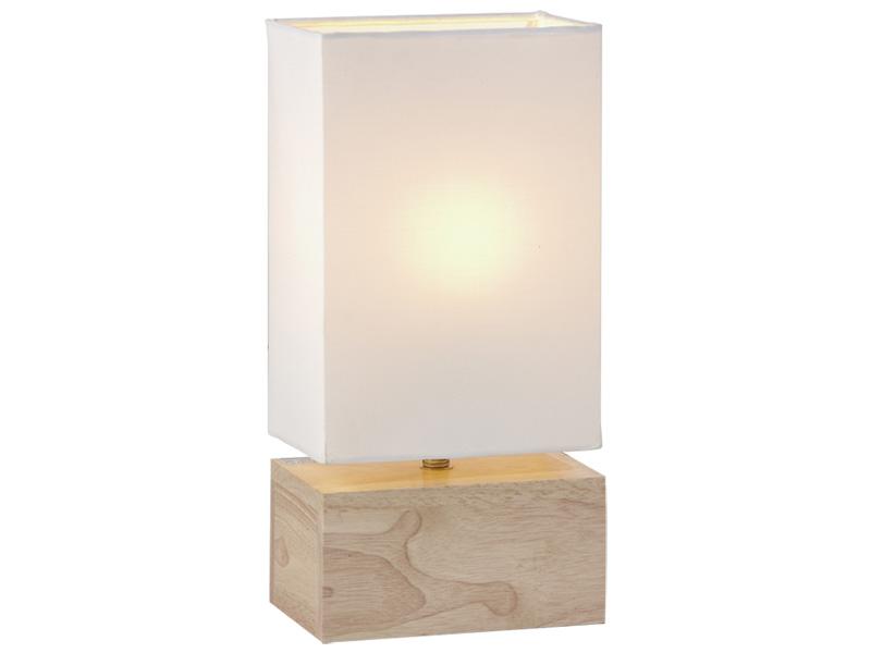 Tischlampe 16m 32.5cm 40W holz