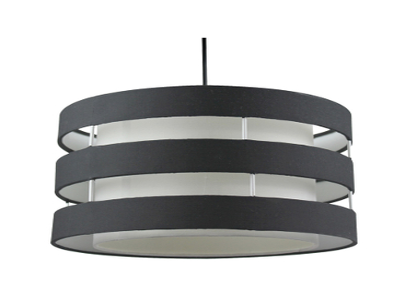 Hängelampe LED FERRET 30x110cm 60W schwarz