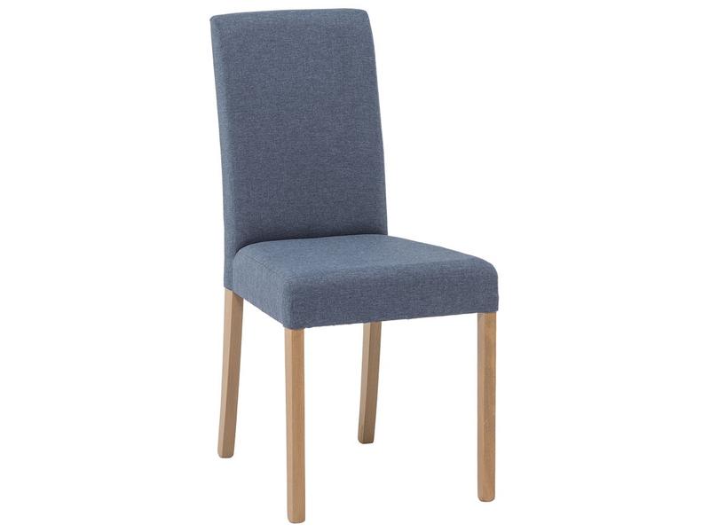 Stuhl BROWNY Stoff blau
