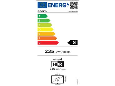 LED,LED-Fernseher SONY 85''/215cm - KD85XH8096