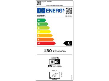 LED,LED-Fernseher SONY 65''/165cm - KD65X81JAEP