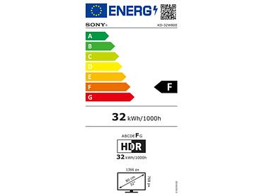 LED,LED-Fernseher SONY 32''/80cm - KD32W800PAEP