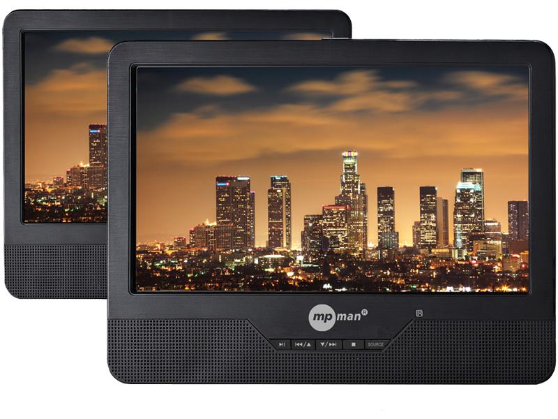 Tragbarer DVD MPMAN 9''/23cm - PDVS9330 TWIN