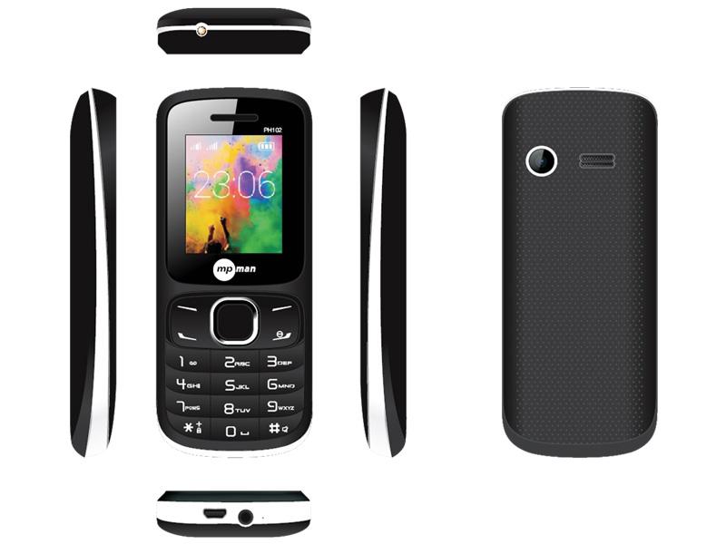 Smartphone MPMAN PH102-BLACK 32GB nero