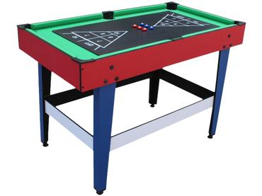 Multi-Spiel-Tisch grün