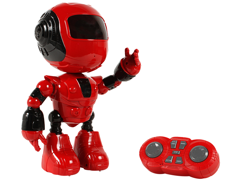Roboter M.G.M. SUPERTOY rot