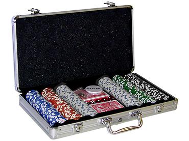 Poker-Koffer M.G.M. SUPERTOY schwarz