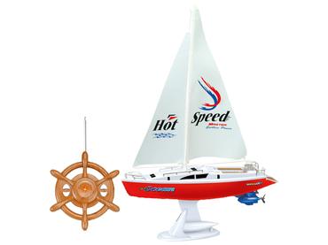 Funkgesteuertes Segelboot M.G.M. SUPERTOY weiss