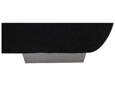 Bettsofa VIGO stoff grau 96x205x88cm