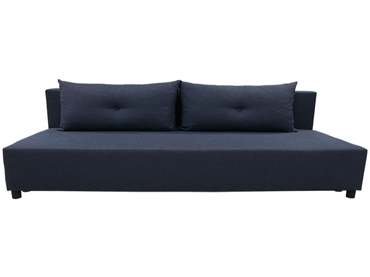 Bettsofa CARMEN stoff dunkelblau 83x192x83cm