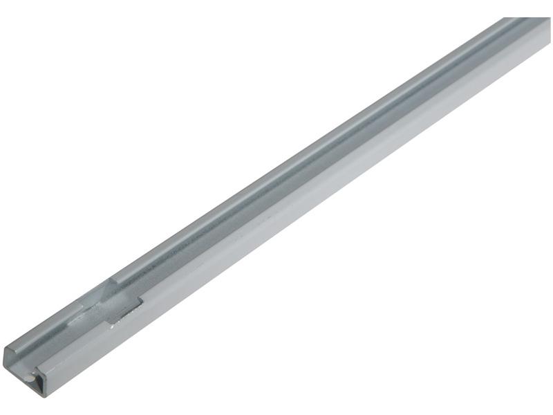 Schiene Aluminium weiss