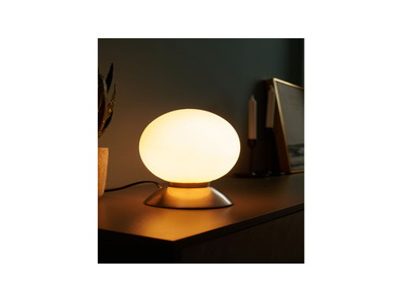 Tischlampe LED BOLLY 16cm 20cm 25W silberfarben